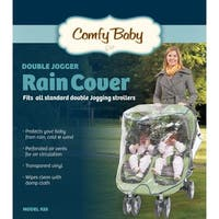 Babyroues Comfy Baby Universal Double Jogging Stroller Raincover