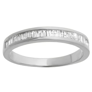 10k Gold 1/8ct TDW Diamond Stackable Anniversary or Wedding Band (I-J, I2-I3)
