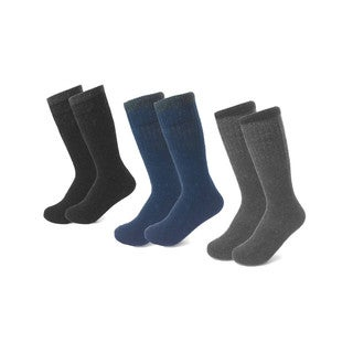 All Season Men's Heavyweight Socks (6-pack)