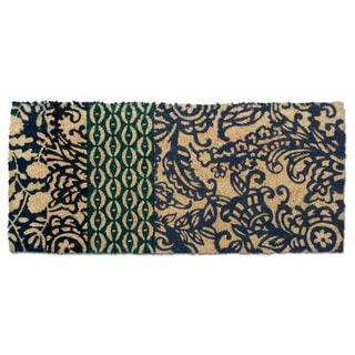 "TAG Paisley Estate Coir Mat (40"" x 18"")"
