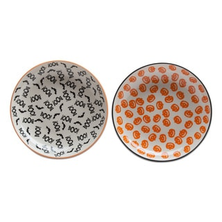 TAG Happy Halloween Plate Set Of 2