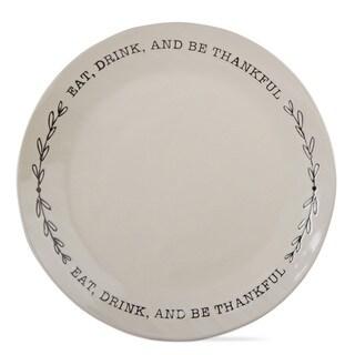 TAG Thanksgiving Be Thankful Platter