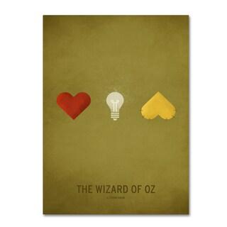 Christian Jackson 'Oz' Canvas Art