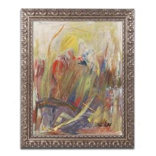 Shana Doumingez 'Held in High Regard' Ornate Framed Art