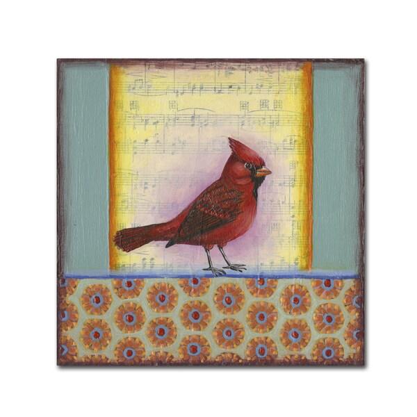 Rachel Paxton 'Small Bird 227' Canvas Art