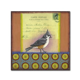 Rachel Paxton 'Small Bird 234' Canvas Art