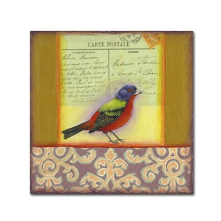 Rachel Paxton 'Small Bird 238' Canvas Art