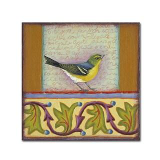 Rachel Paxton 'Small Bird 241' Canvas Art