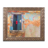 Masters Fine Art 'Havana Balcony' Ornate Framed Art