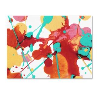 Amy Vangsgard 'Paint Party 6' Canvas Art