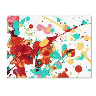 Amy Vangsgard 'Paint Party 2' Canvas Art
