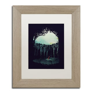 Robert Farkas 'Deep In The Forest' Matted Framed Art