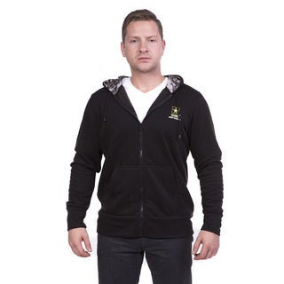 Officially Licensed U.S. Army Zip-up Hooded Sweatshirt