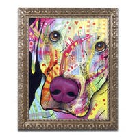 Dean Russo 'Close Up Lab' Ornate Framed Art