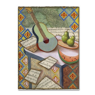 Rachel Paxton 'Music Magic' Canvas Art