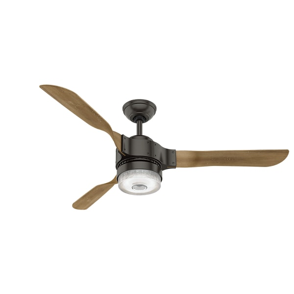 Shop hunter fan apache bronze 54 inch wi fi ceiling fan works with hunter fan apache bronze 54 inch wi fi ceiling fan works with amazon alexa mozeypictures Image collections