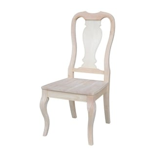 Queen Anne Tan Dining Chair (Set of 2)