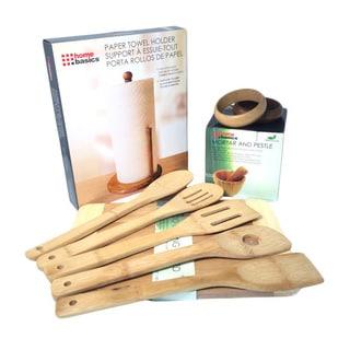 Natural Bamboo Eco-friendly Kitchen Kit