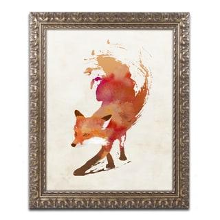 Robert Farkas 'Vulpes Vulpes' Ornate Framed Art