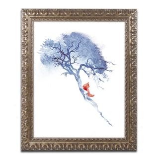 Robert Farkas 'There's No Way Back' Ornate Framed Art