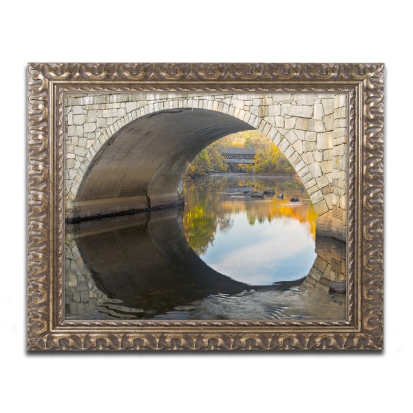 Michael Blanchette Photography 'Picture in Picture' Ornate Framed Art