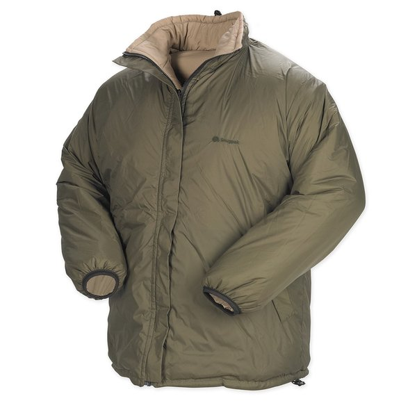 Proforce Snugpak Men's Sleeka Elite Green Nylon Reversible Jacket
