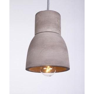 Modern Cement Shade Iron Two-tier Pendant Light