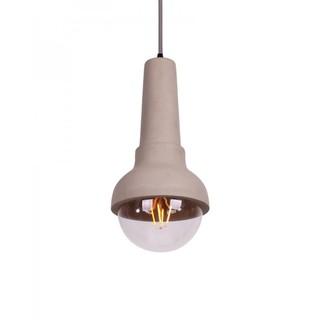 Concrete Flashlight-shaped Pendant Light