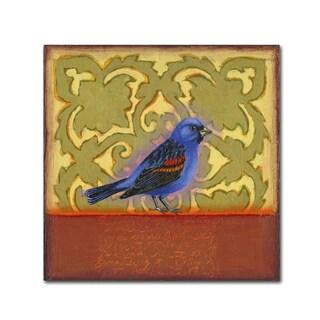 Rachel Paxton 'Small Bird 194' Canvas Art