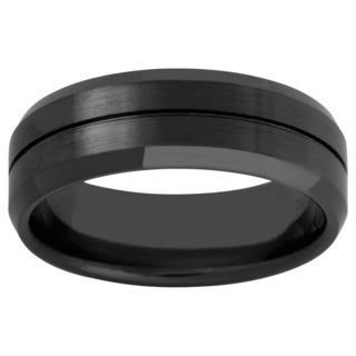 Men's Black Ceramic Band