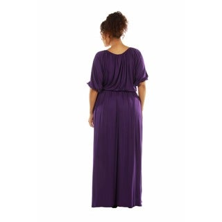 24/7 Comfort Women's Plus Size Maxi Dress
