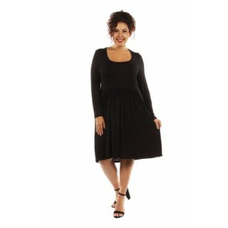 This Just In: The Must Have Plus Size Midi Dress for Fall