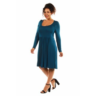 This Just In: The Must Have Plus Size Midi Dress for Fall (More options available)