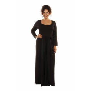 24/7 Comfort Plus Size Maxi Dress|https://ak1.ostkcdn.com/images/products/12981430/P19728842.jpg?impolicy=medium