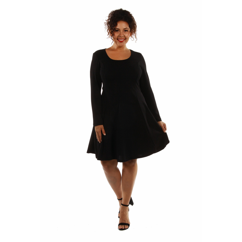 24/7 Comfort Women\'s Plus Size Midi Dress