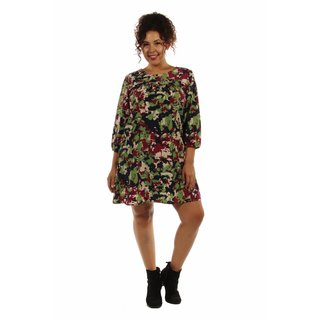 Really Cute, Really Comfortable Plus Size Floral Minidress
