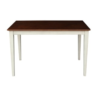 Shaker Legs Solid Wood Top Table