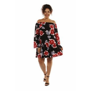 Enticing Ruffles Plus Size Dress