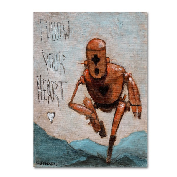 Craig Snodgrass 'Follow Your Heart' Canvas Art