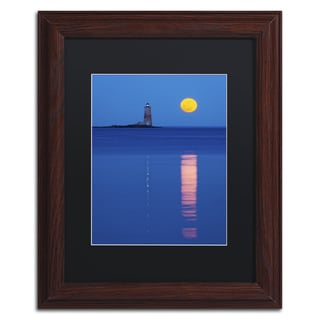 Michael Blanchette Photography 'Moon Reflections' Matted Framed Art