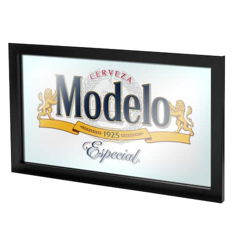 Modelo Framed Mirror Wall Plaque 15 x 26 Inches