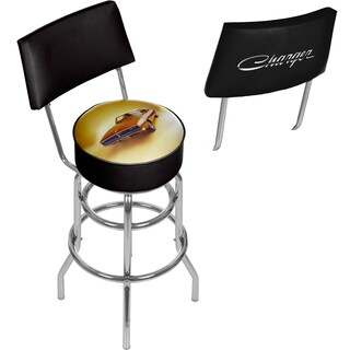 Dodge Bar Stool with Back - 69 Charger
