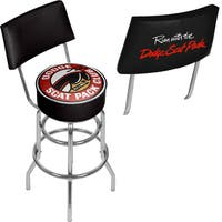 Dodge Bar Stool with Back - Scat Pack