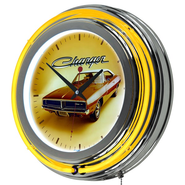 Dodge Neon Clock - 69 Charger