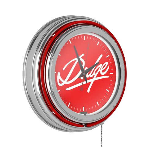 Dodge Neon Clock - Signature
