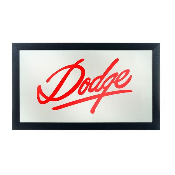 Dodge Logo Mirror - Signature