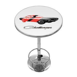 Dodge Pub Table - Challenger Stripes 2