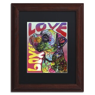 Dean Russo 'Boxer Luv' Matted Framed Art
