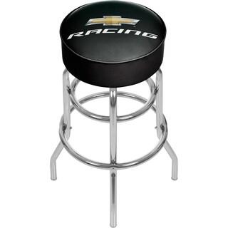 Chevrolet Padded Swivel Bar Stool - Racing