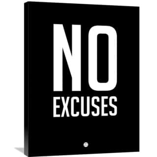Naxart Studio 'No Excuses 1' Stretched Canvas Wall Art